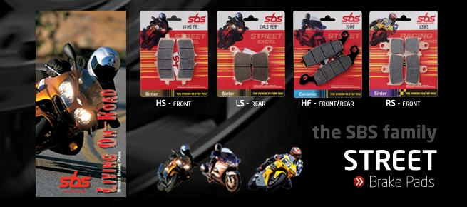 SBS Friction A/S is the world's leading manufacturer of motorcycle brake pads for street, off road and racing.