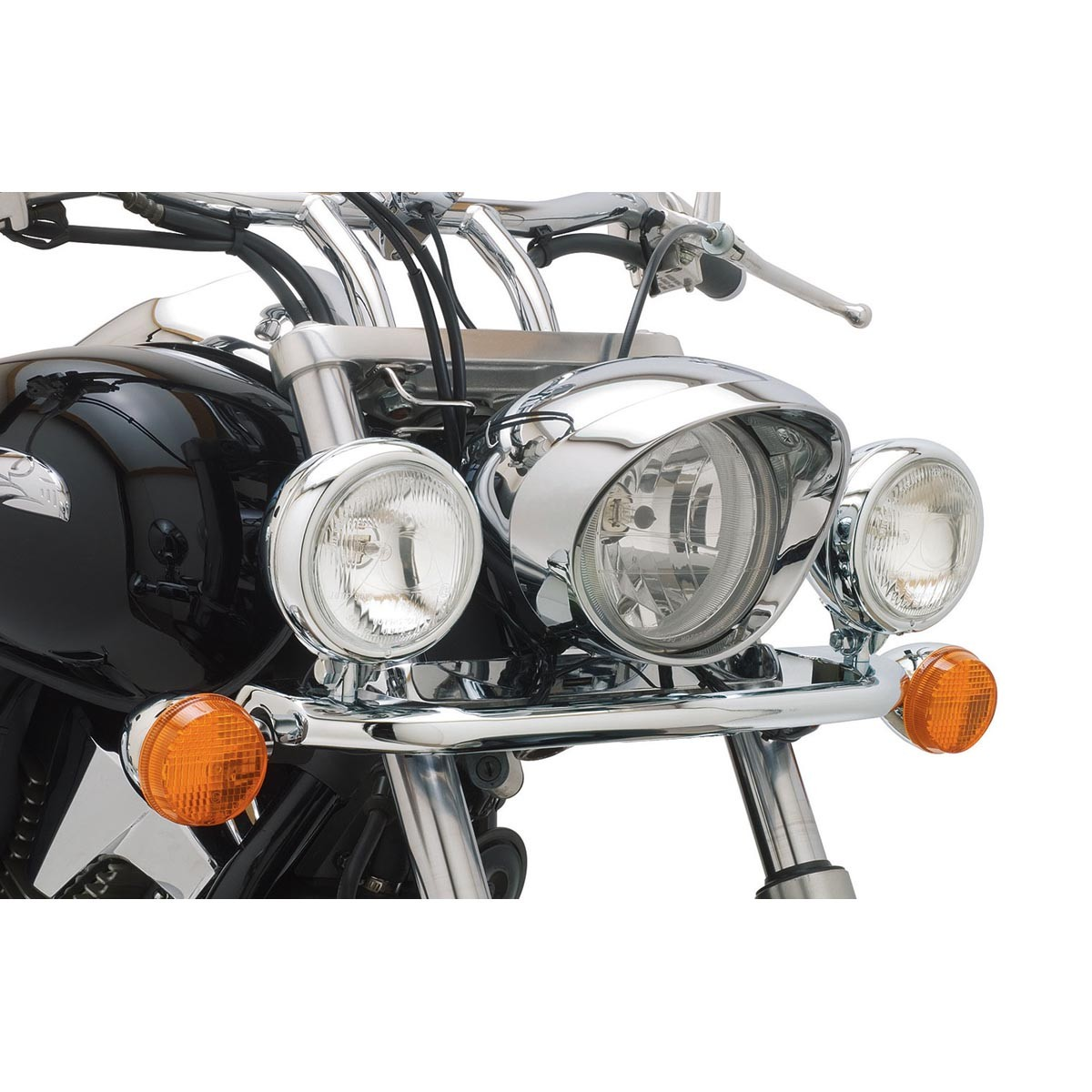 Get it delivered to your door - COBRA Steel Lightbar/Spotlights w/Turn Signals - 04-0152 - 6800 (EGP)