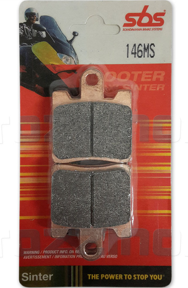 Get it delivered to your door - SBS FRONT BRAKE PADS - 146MS - 540 (EGP)