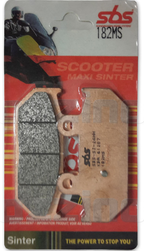 SBS REAR BRAKE PADS - 182MS