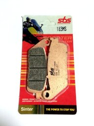 Get it delivered to your door - SBS FRONT BRAKE PADS - 183MS - 475 (EGP)