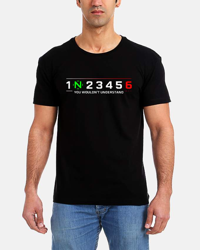Get it delivered to your door - T-SHIRT FACTORY 1 N 2 3 4 5 6 T-Shirt - 120 (EGP)