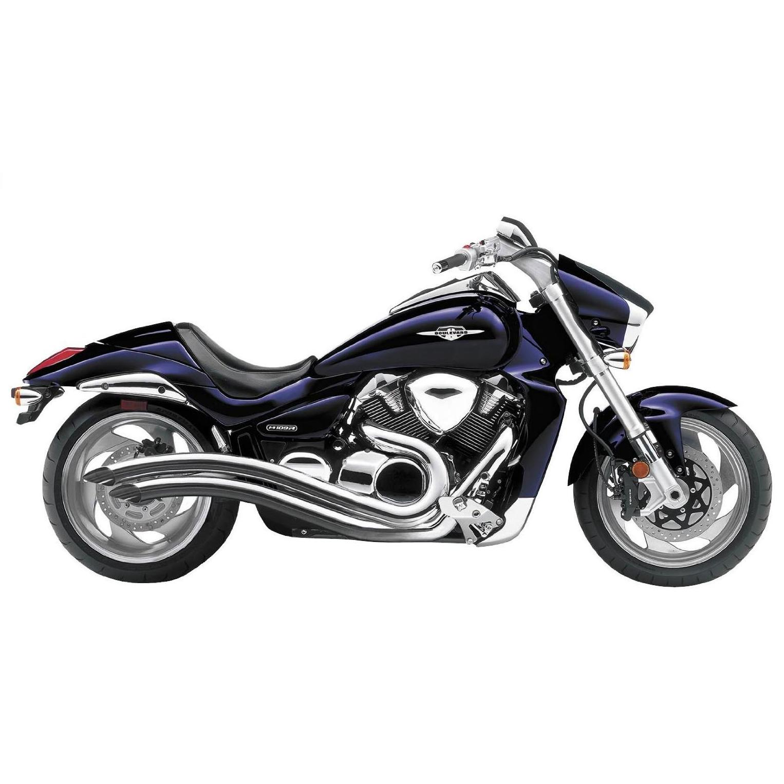 Get it delivered to your door - COBRA Speedster Swept Exhaust for Suzuki M109R Boulevard - #3221T - 15900 (EGP)