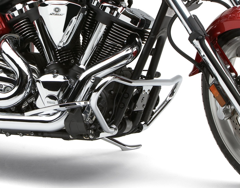 Get it delivered to your door - COBRA Engine Case Guards For 2011-2013 Yamaha XVS 13 Stryker - #01-3270 - 4750 (EGP)