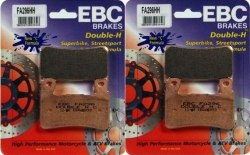 EBC ''brake pads'' EBC Sintered Double H Front Brake Pads (2 Sets) for Both Calipers  FA296HH