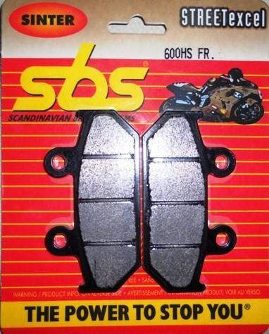 Get it delivered to your door - SBS FRONT BRAKE PADS - 600HS - 540 (EGP)