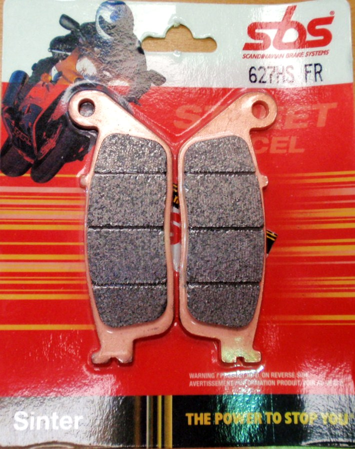 Get it delivered to your door - SBS FRONT BRAKE PADS - 627HS - 555 (EGP)