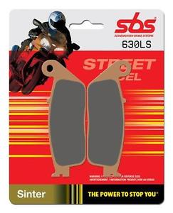REAR BRAKE PADS - 630LS SBS -