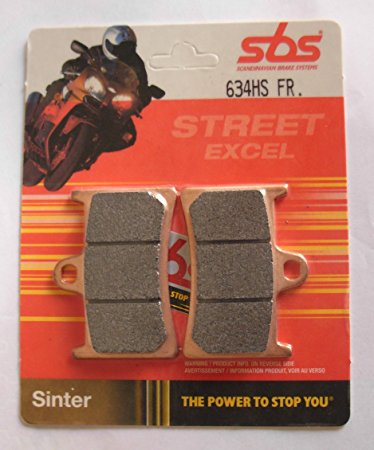 Get it delivered to your door - SBS FRONT BRAKE PADS - 634HS - 485 (EGP)