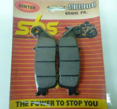 Get it delivered to your door - SBS FRONT BRAKE PADS - 654HS - 540 (EGP)
