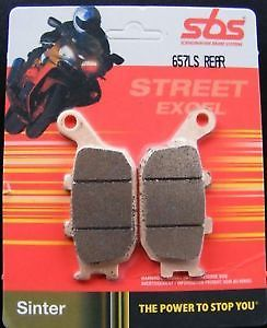 Get it delivered to your door - SBS REAR BRAKE PADS - 657LS - 575 (EGP)