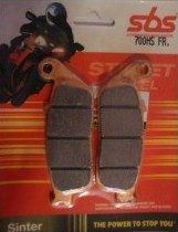 Get it delivered to your door - SBS FRONT BRAKE PADS - 700HS - 555 (EGP)
