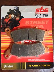 Get it delivered to your door - SBS REAR BRAKE PADS - 736LS - 575 (EGP)