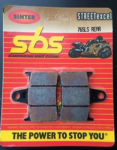 Get it delivered to your door - SBS REAR BRAKE PADS - 765LS - 555 (EGP)