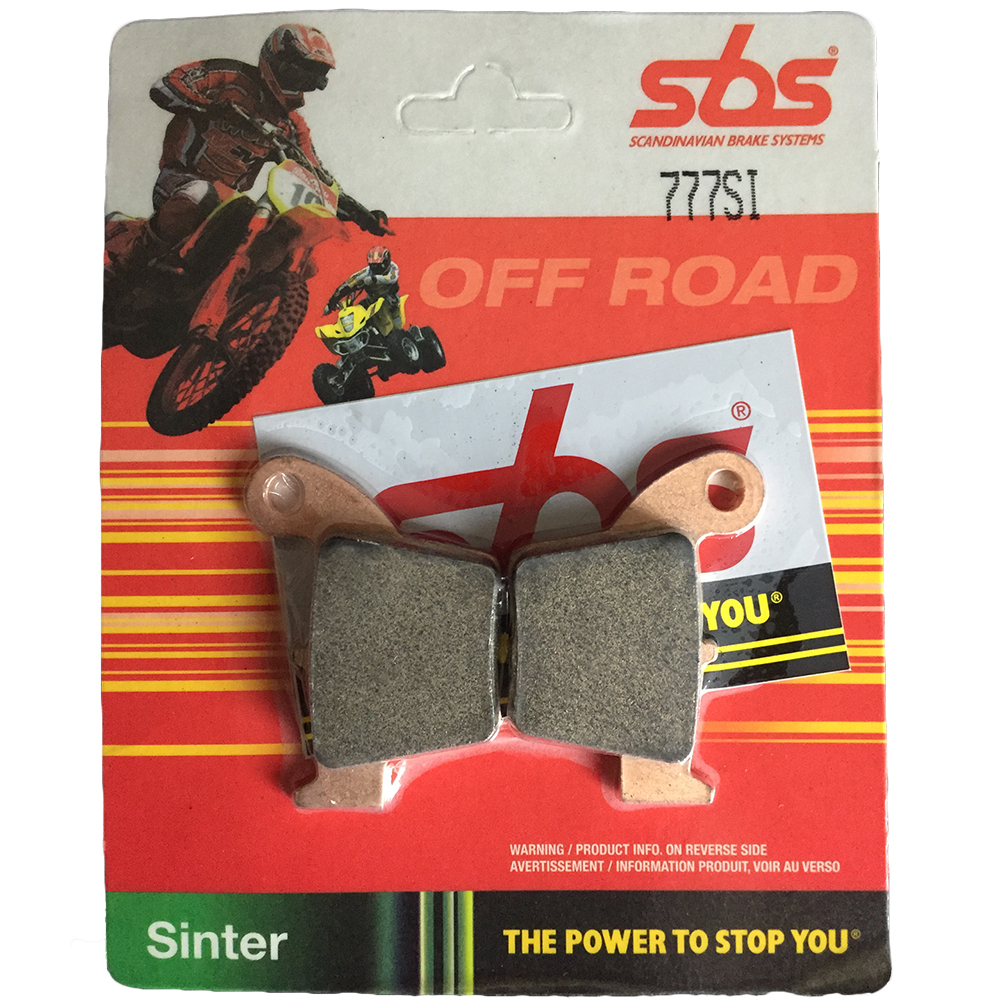 Get it delivered to your door - SBS REAR BRAKE PADS - 777SI - 475 (EGP)