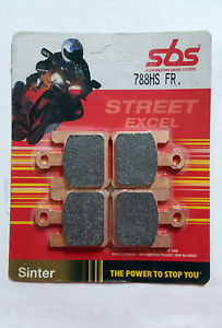 Get it delivered to your door - SBS FRONT BRAKE PADS - 788HS - 640 (EGP)