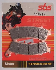 Get it delivered to your door - SBS FRONT BRAKE PADS - 828HS - 555 (EGP)
