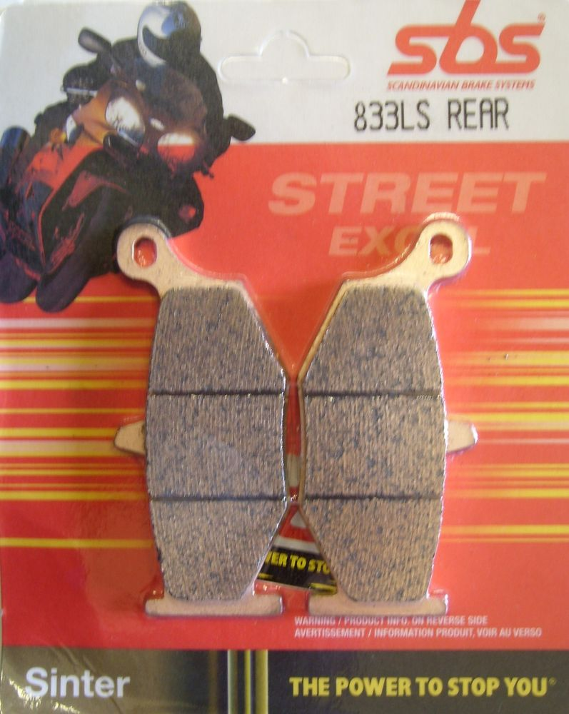 Get it delivered to your door - SBS REAR BRAKE PADS - 833LS - 575 (EGP)