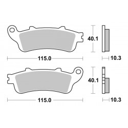 Get it delivered to your door - SBS REAR BRAKE PADS - 880LS - 575 (EGP)