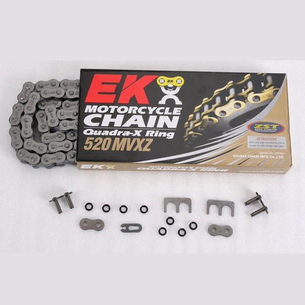 Get it delivered to your door - EK CHAIN 520 MVXZ Quadra X-Ring Chain - 3200 (EGP)