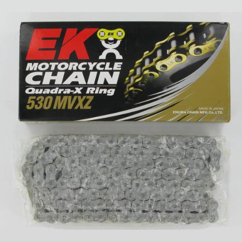 Get it delivered to your door - EK CHAIN 530 MVXZ Quadra X-Ring Chain - 3400 (EGP)