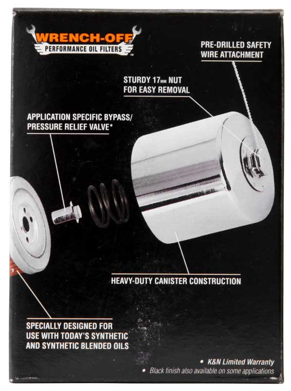 K and N - Filters - KN-171C Oil Filter