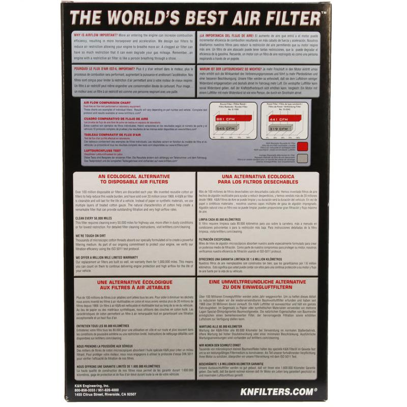 K and N - Filters - SU-1005 Air Filter
