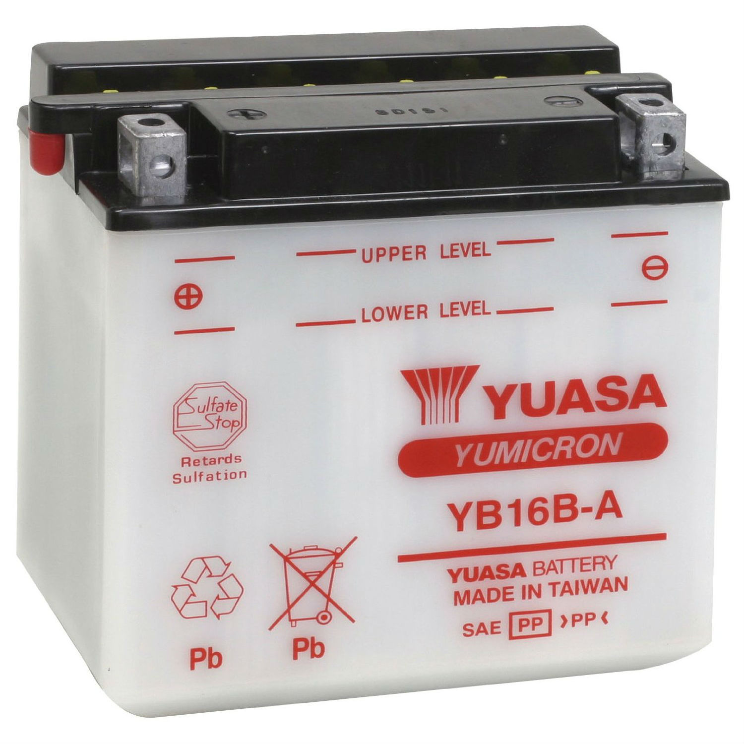 Get it delivered to your door - Yuasa YB16B-A Battery (Taiwan) - 720 (EGP)