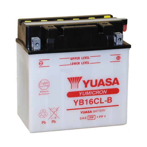 Get it delivered to your door - Yuasa YB16CL-B Battery (USA) - 1070 (EGP)
