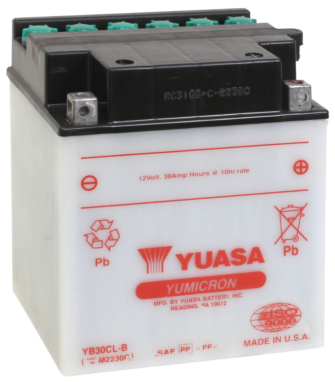 Get it delivered to your door - Yuasa YB30CL-B (USA) - 2450 (EGP)