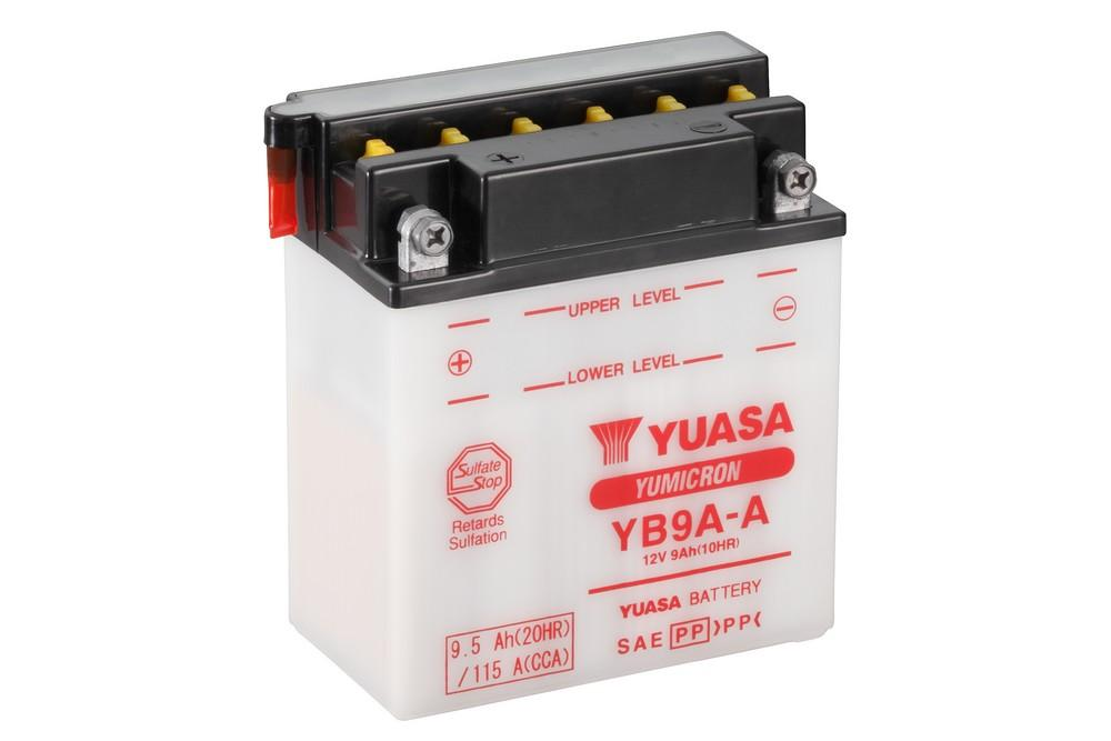 Get it delivered to your door - YUASA YB9A-A Battery (Taiwan) - 275 (EGP)