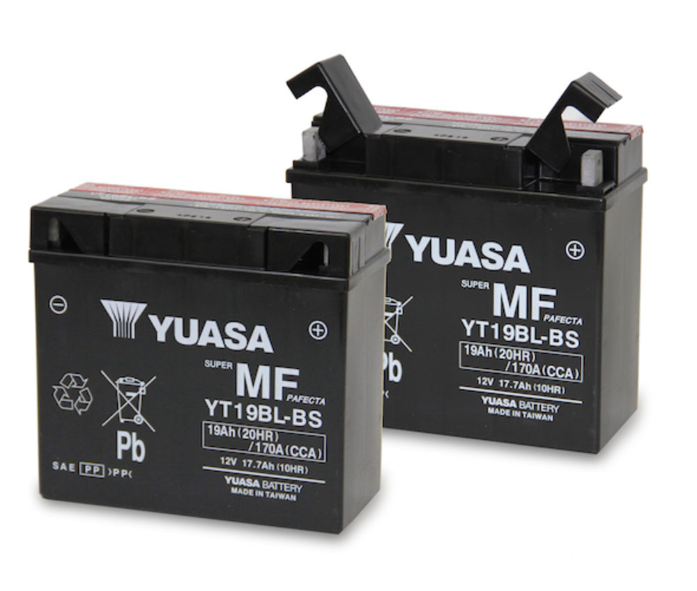 Get it delivered to your door - YUASA YT19BL-BS 12V Maintenance Free Battery (Taiwan) - 2400 (EGP)