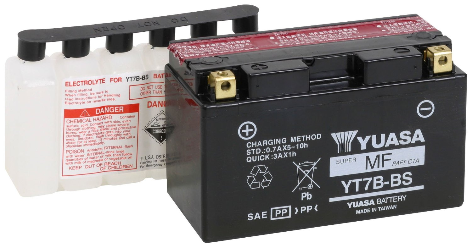 Get it delivered to your door - Yuasa YT7B-BS Battery (Taiwan) - 455 (EGP)