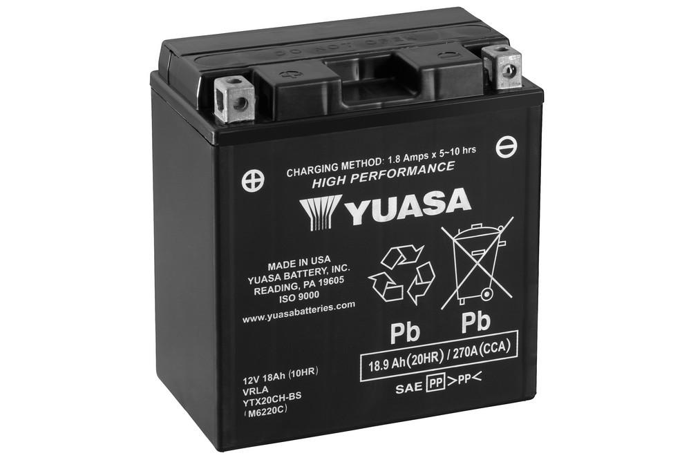 Get it delivered to your door - Yuasa YTX20CH-BS Battery (USA) - 2600 (EGP)