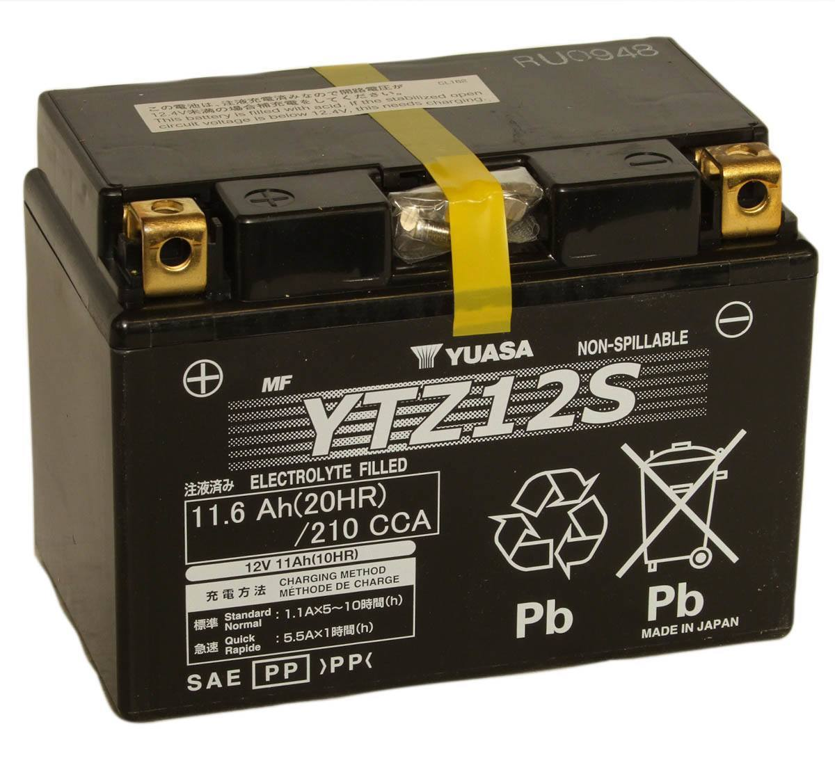 Get it delivered to your door - Yuasa YTZ12S Battery (Japan) - 3200 (EGP)