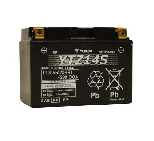 Get it delivered to your door - Yuasa YTZ14S Battery (Japan) - 3100 (EGP)