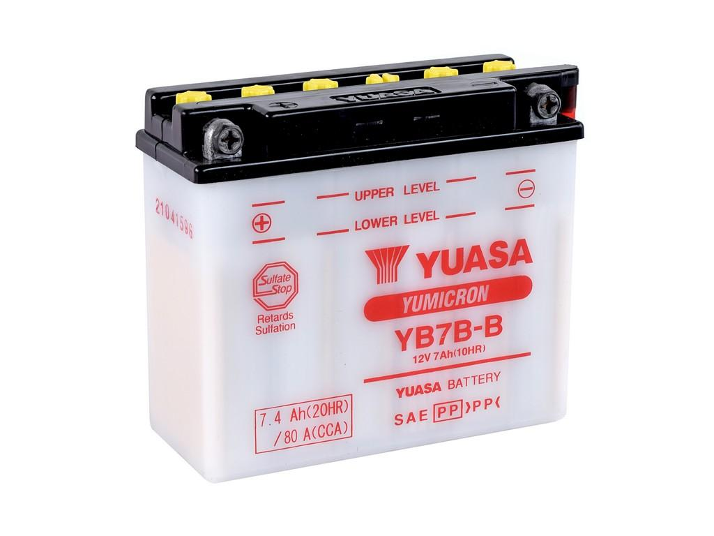 Get it delivered to your door - YUASA YB7B-B Battery (Indonesia) - 265 (EGP)