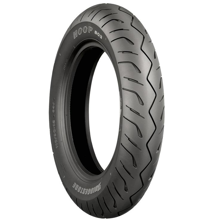Get it delivered to your door - BRIDGESTONE B03 HOOP SCOOTER FRONT TIRE - 2800 (EGP)