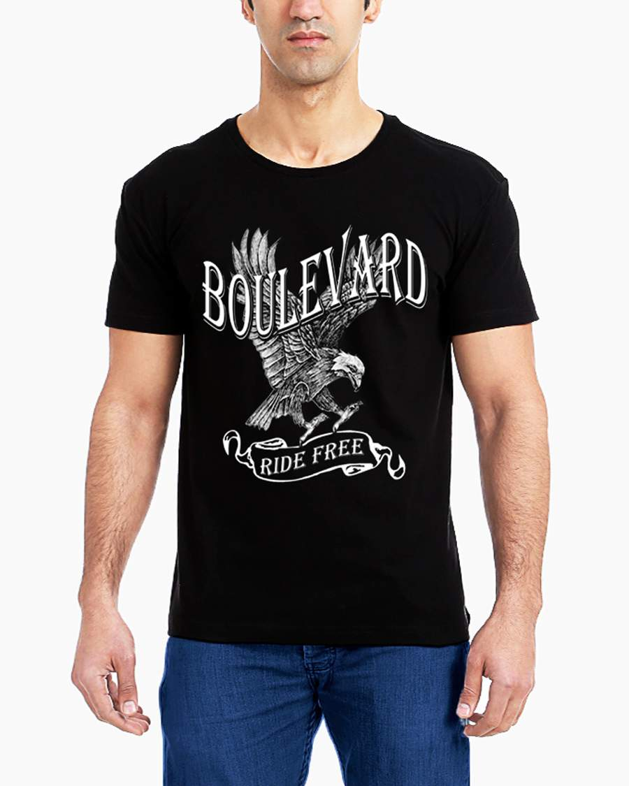 Get it delivered to your door - T-SHIRT FACTORY Boulevard T-Shirt - 120 (EGP)