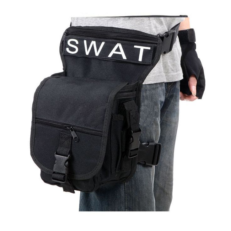 swat leg bag for motorcycles and scooter