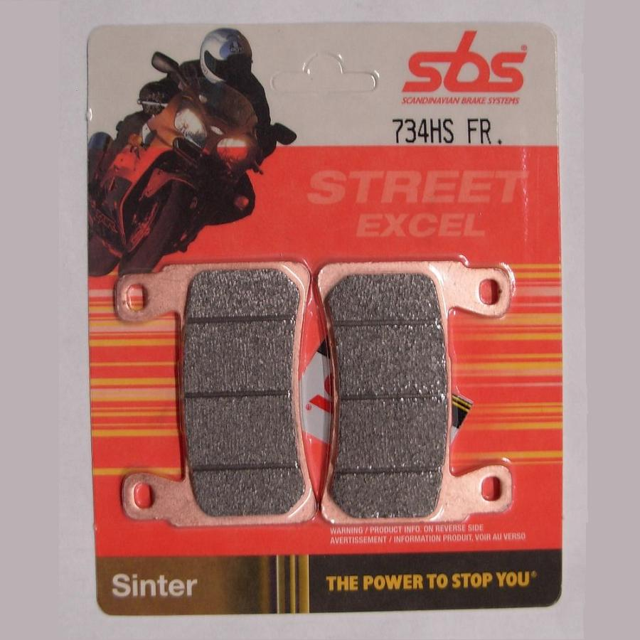 Get it delivered to your door - SBS FRONT BRAKE PADS - 734HS - 540 (EGP)