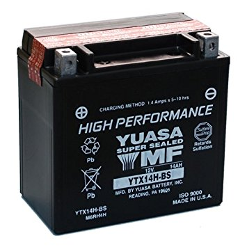 YUASA YTX14H-BS Battery (USA)