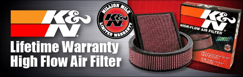 Shop for K&N Air and Oil Filters