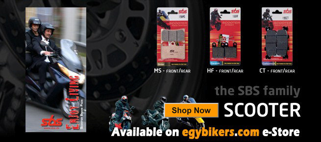 SBS Brake Pads now in Store - Shop Now