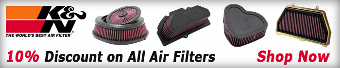 10% Discount on All K&N Air Filters