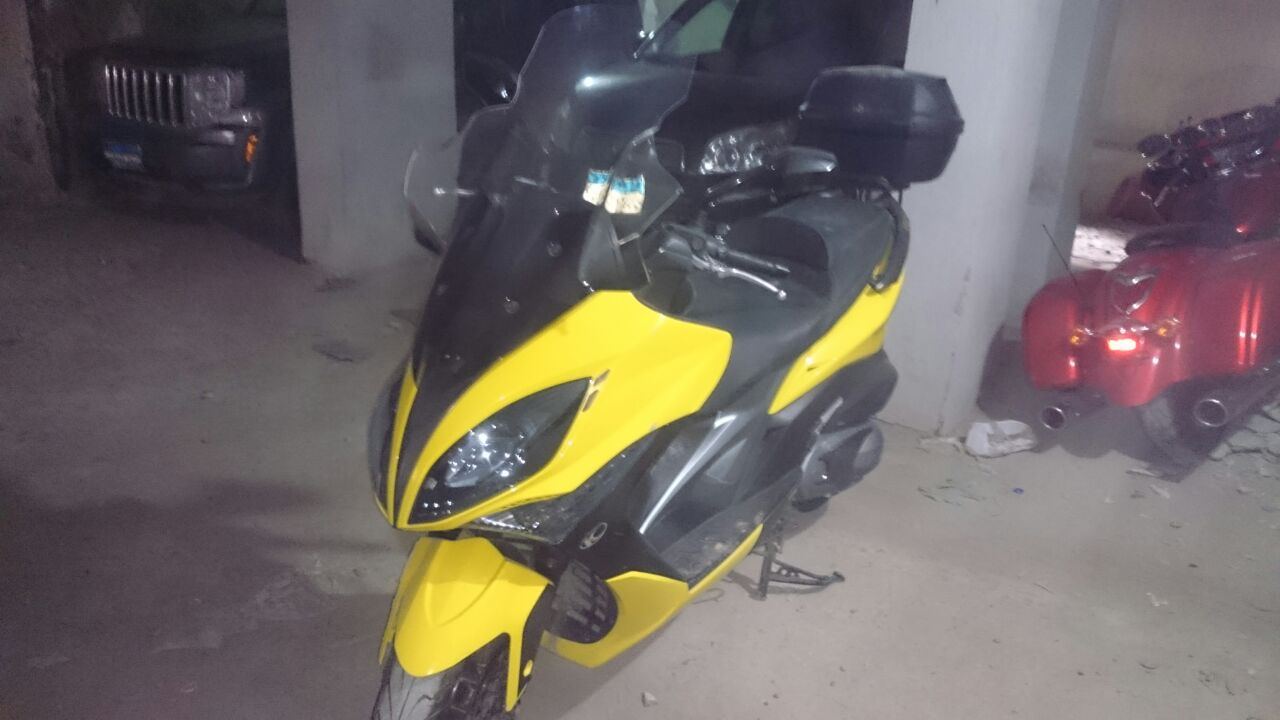 KYMCO Xciting 400 not ABS