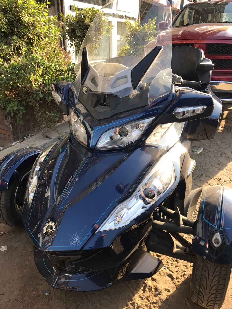 CAN-AM Spyder RT limited (190 Kms only)