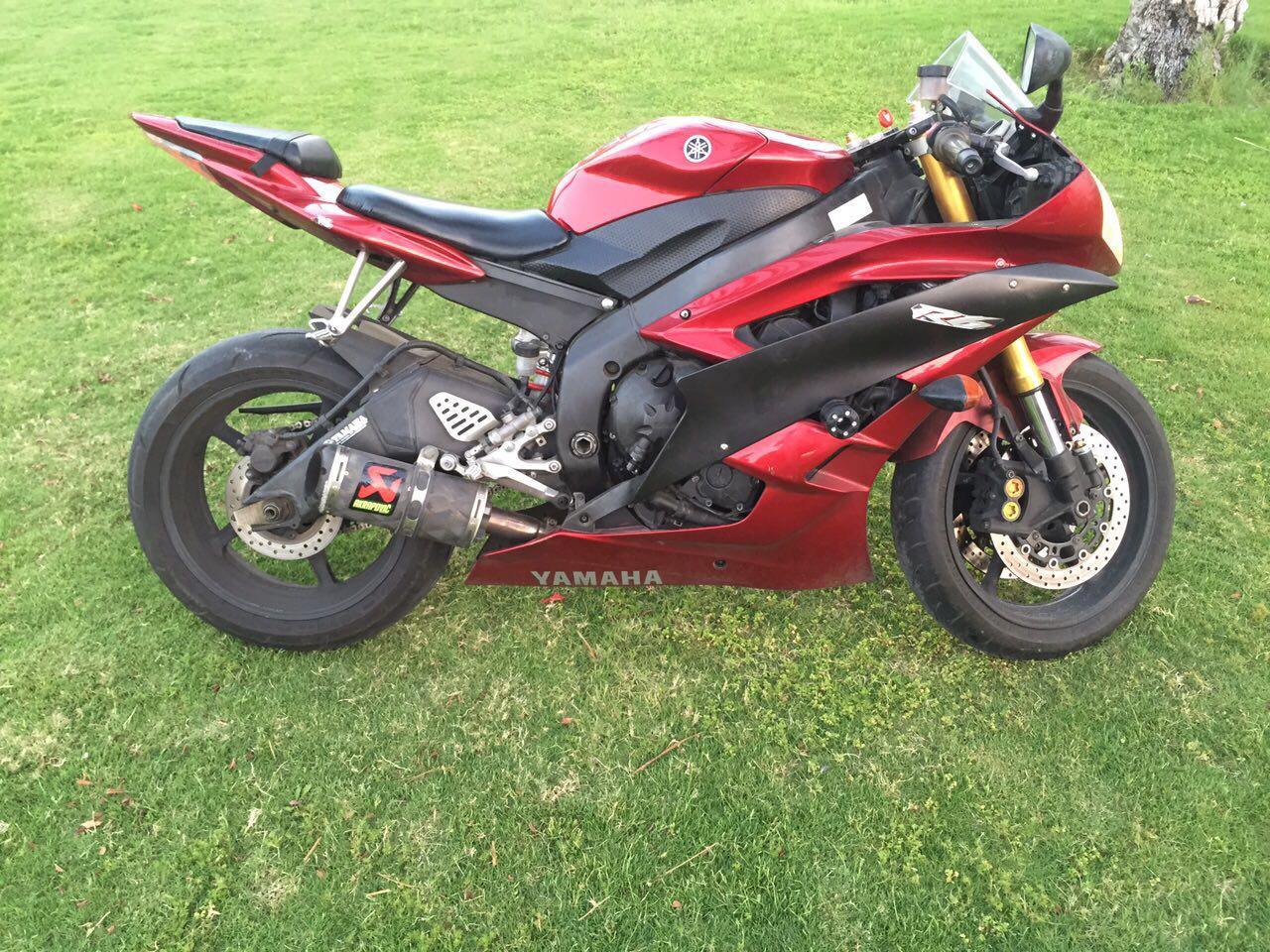 for sale yamaha yamaha yzf r6 600cc 2007 55000 egp motorcycles egypt. Black Bedroom Furniture Sets. Home Design Ideas