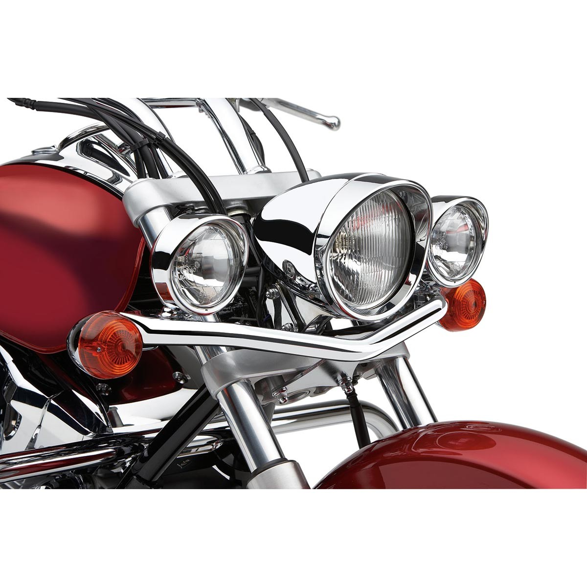 COBRA Light-bar with Spotlights Style B for HONDA VTX1300T(08-09) - #04-0153