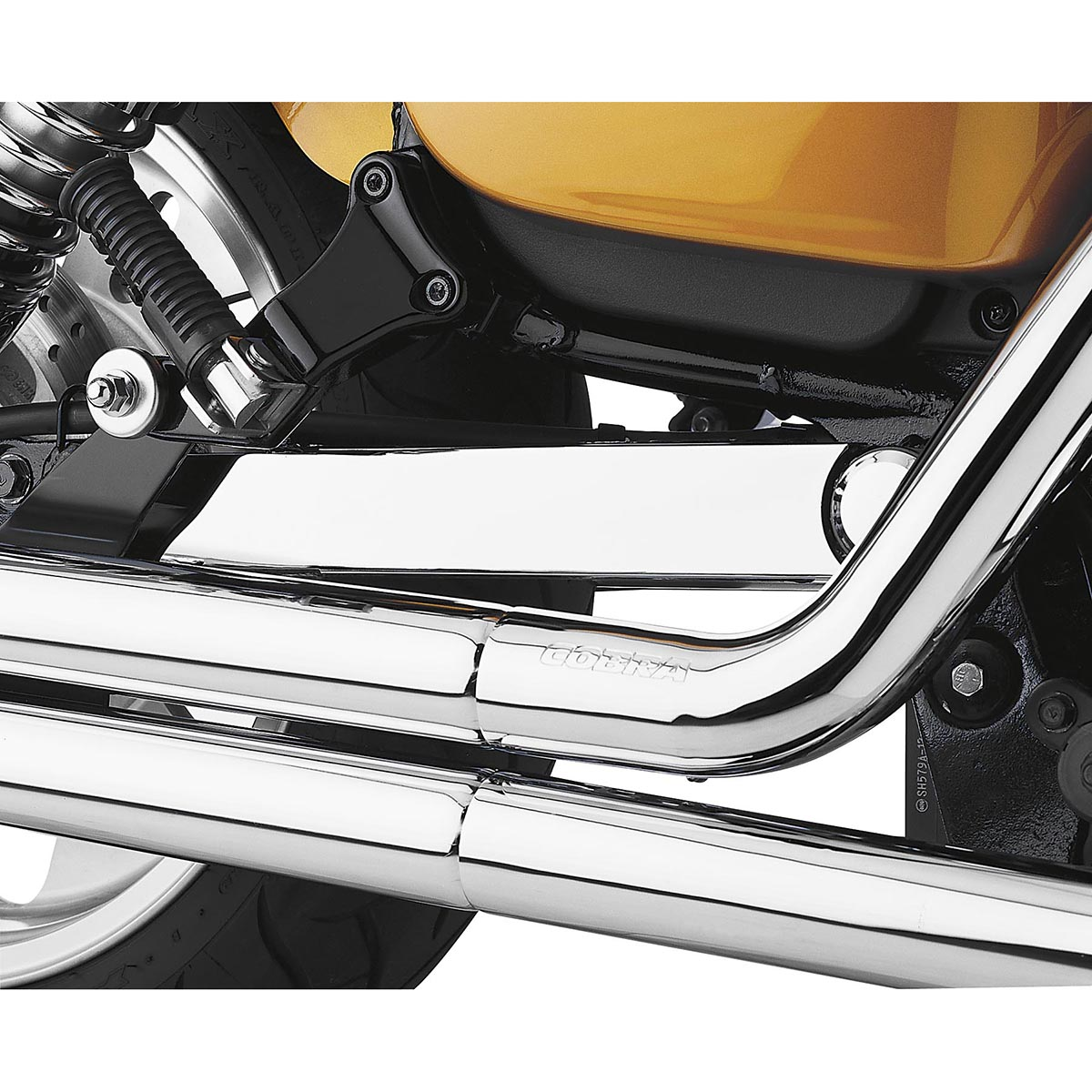 COBRA Swingarm Cover for SUZUKI Boulevard VZR 1800 M109R(06-14) & 1800N M109R2(08-09) & 1800N M109RB Boss (14-16) & 1800Z M109RZ Limited(07-14) - #06-0846